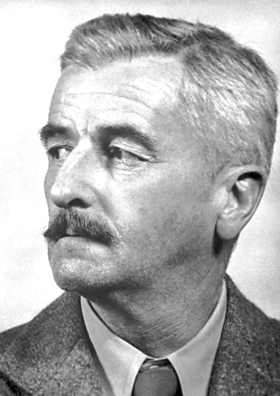William Faulkner. Nuotrauka iš puslapio http://en.wikipedia.org/wiki/William_faulkner